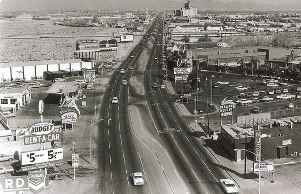 Las Vegas Strip Old