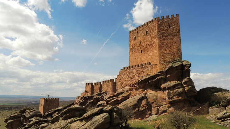 Castle of Zafra, Spain