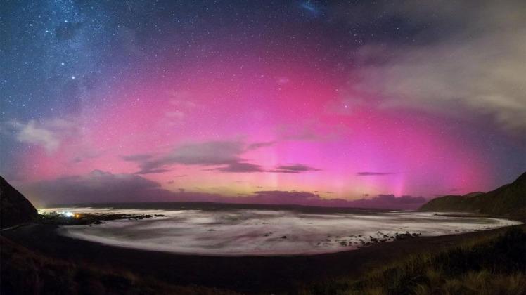 Aurora Australis, New Zealand