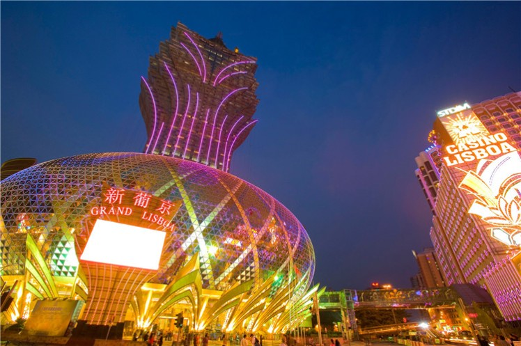 Th grand lisboa, bird cage view