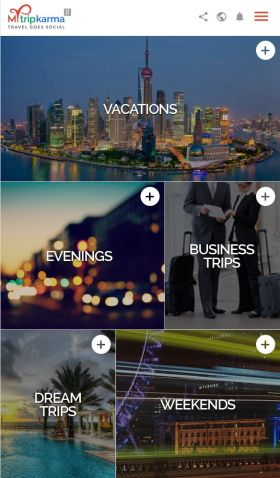 Plan vacations, weekends and business trips with Mytripkarma